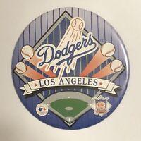 """Los Angeles Dodgers Pinback Button Pin 3-1/2"""" MLB Baseball Pin"""
