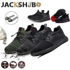Zapatos seguridad s3 zapatos de trabajo tapas de acero fácilmente deportiva transpirable