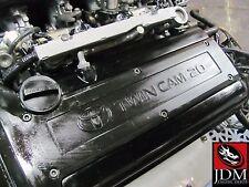 95-00 TOYOTA COROLLA AE111 TWIN CAM ENGINE MANUAL TRANS LOOM & ECU JDM 4AGE