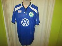 """VfL Wolfsburg Original Puma Ausweich Trikot 2000/01 """"VW"""" Gr.XXL TOP"""