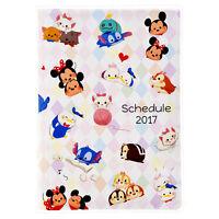 Disney Store Japan 2017 Schedule Book ❤ TSUM TSUM B6 Monthly Planner