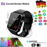 Bluetooth Smartwatch Uhr Intelligente Armbanduhr Fitness Tracker Sport Kamera