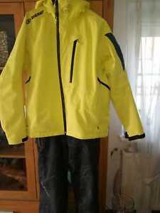 Ziener Ski Anzug Gr.50 Gelb/Grau