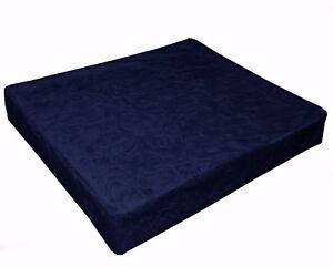 "mn115t ( 24""x28""x5"" ) Navy Blue Crushed Velvet Cushion Cover"