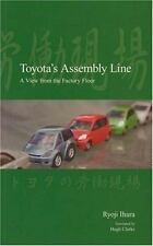 Toyota's Assembly Line: A View from the Factory Floor (Japanese Society Series)