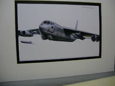 Boeing B 52 Stratofortress Airplane Box Top Art Color Museum Archives