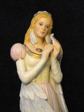 Lenox Legendary Princesses SWAN PRINCESS w/ BOX COA Hand Painted 24k GOLD