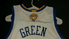 Authentic Draymond Green Warriors Home 3x 2015 Finals Jersey Size L with Tags!