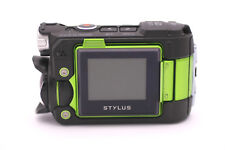Olympus Stylus Tough TG-Tracker Waterproof Action Camera Camcorder (Green)