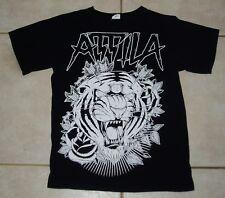 Attila Concert Tour T Shirt (S) Small Mens parkway drive born of osirus tiger