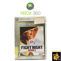 Fight Night Round 3 (2007) EA Sports Xbox 360 Game Case Manual Disc Tested Works