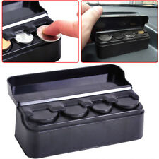 New Car Coins Holder Organizer Loose Change Storage Box Money Wallet Piggy Bank