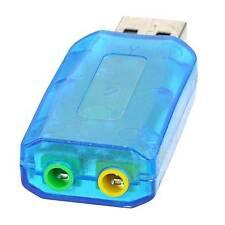 Blu USB a Cuffie + Mic Virtual 5.1 Adattatore 3D Scheda audio