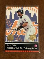 2000 World Series Topps Baseball Base Card #5 - Todd Zeile - New York Mets