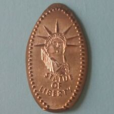 Statue Of Liberty Lady Liberty Crown Head Elongated Copper Penny