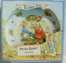 "a Wedgwood Peter Rabbit Happy Birthday 2000 Plate, 8""/20cm Dia"