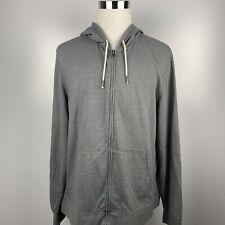 Arizona Jean Co. Men's Size XXL 2XL Heather Gray Full Zip Hoodie Sweater