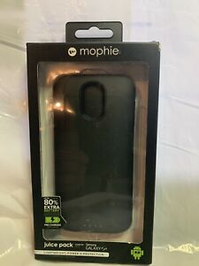 Mophie -Juice Pack -Galaxy S4- Black- New