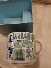 Starbucks Tasse Mug Been There Ontario Neu mit SKU