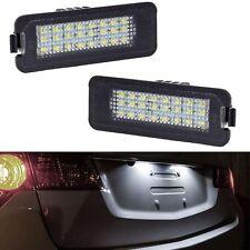ECLAIRAGE PLAQUE LED VW EOS LUPO NEW BEETLE PASSAT CC B6 B7 B8 PHAETON BLANC