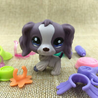 Hasbro Littlest Pet Shop 1209 LPS Accessory Gift Puppy Cream Collie Dog Toy Doll