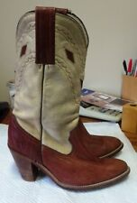 Frye Ladies Size 8 Cowgirl Boots