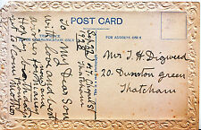 Genealogy Postcard - Family History - Digweed - Dunston Green - Thatcham U4551