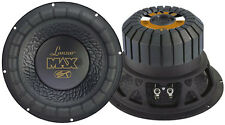 1 New Lanzar MAX8 Max 8'' 600 Watt Small Enclosure 4 Ohm Subwoofer Sub Car Audio