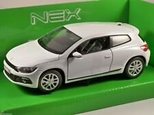 Vw Scirocco R - White  Welly 1/24
