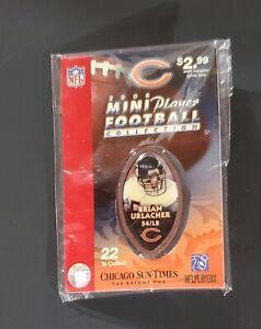 2006 BRIAN URLACHER mini player football collection CHICAGO BEARS / SUN-TIMES