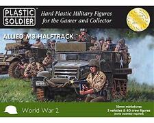 PLASTIC SOLDIER CIE Half-tracks M3 (US) WWII Véhicules 15mm plastique