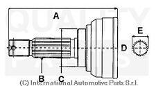 KIT GIUNTO OMOCINETICO HONDA CR-V 2.2 CTDi 140CV dal 2003