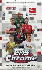 Topps Chrome Bundesliga Soccer / Football 2018/19 Factory Sealed Hobby Box