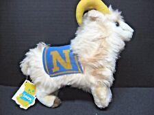 1978 DAKIN cream Navy Goat mascot N tush tag NATURE BABIES #31-1416