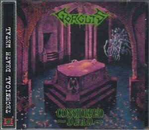 GORGUTS - CONSIDERED DEAD (+2 Bonus)(1991/2008) CD+OBI Jewel Case OOP+GIFT