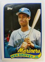 1989 89 Topps Traded Ken Griffey Jr. Rookie RC #41T, Seattle Mariners