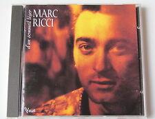 MARC RICCI .......... D'UN SOMMEIL LEGER ........... CD