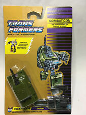 TRANSFORMERS COMBATICON - DECEPTICON - BRAWL *** NEW*** SEALED