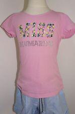 Miss Blumarine T-Shirt MISS Strass Gr: 104, 116,122 rosa / Pink