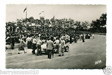Original photograph Postcard A P A Louis Chiron 1951 Grand prix A5