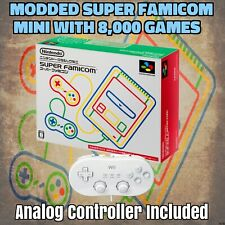 Modded Super Famicom Mini Classic With 8,000 games & Analog Controller