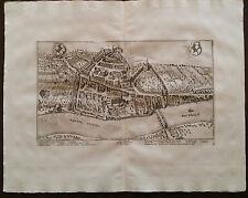 Switzerland Van Der Aa 1729 Canton Schaffhouse Schafhause Suisse