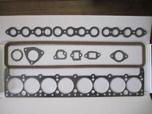 1934-1949 Buick Special & Super Head Gasket Set. Valve Grind. Fresh. Made in USA