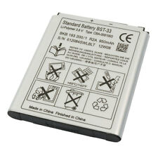 BST-33 Battery for SONY ERICSSON Aino Naite C903 K800i K810i W880i W900i W950i