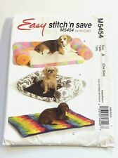 McCall's M5454   DOGGIE HOME ACCESSORIES     patterns and instructions....