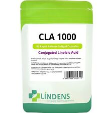 CLA 1000mg (90 capsules) natural fat burner, weight loss, diet Lindens