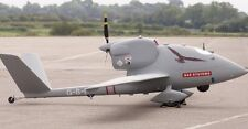 BAE Systems HERTI Reconnaissance UAV Airplane Model Replica Large Free Shipping