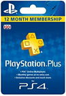 PlayStation Plus 12 Month Membership Card (PS5   PS4)