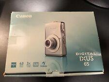 Canon IXUS 65 - 6MP Digital Camera