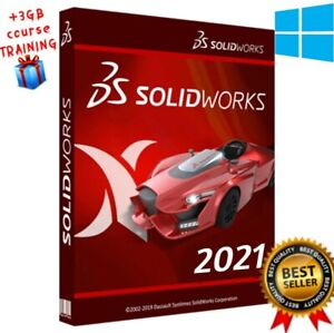 SOLIDWORKS PREMIUM 2021+3GB TRAINING COURSE AS A GIFT 🎁 UP TO 5 USER🔥